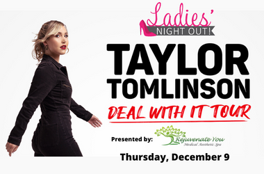 More Info for Taylor Tomlinson: Deal With It Tour
