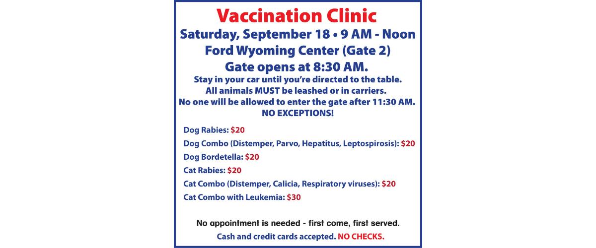 Humane Society Vaccination Clinic